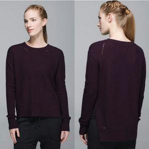 Lululemon Seva Knit Split Side Sweater